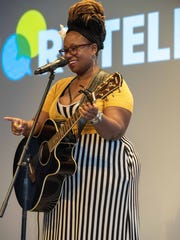 8/15/18- Deseree Spinks at the Asbury Park Press storytellers