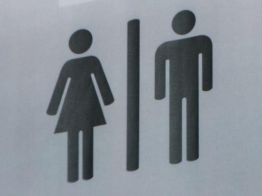 bathroom baños logo