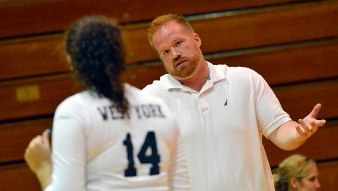 West York girls' volleyball coach Joe Ramp. DISPATCH FILE PHOTO