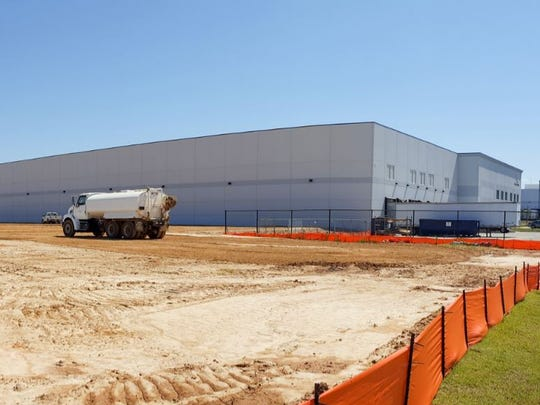 Construction site for the expansion of Radians Inc.