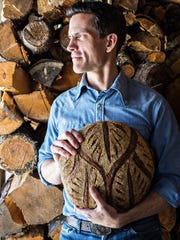 """Breaking Bread"" author Martin Philip is the head bread baker at King Arthur Flour in Norwich."