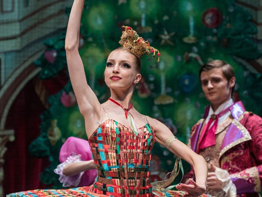 Kissy Doll in Moscow Ballet's Great Russian Nutcracker.