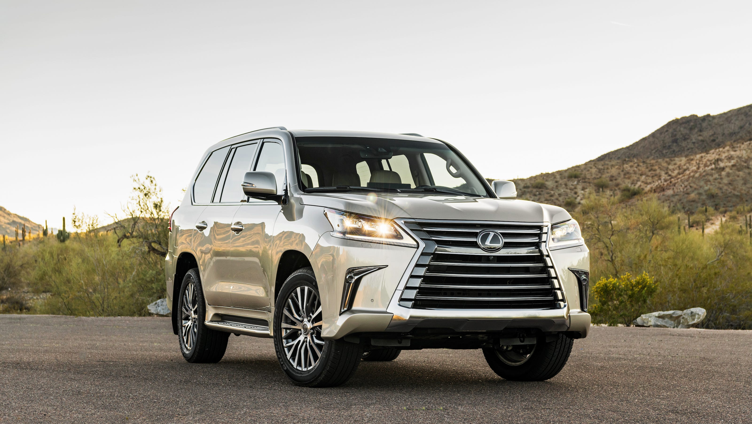 Lexus LX 570 is too cool for old school