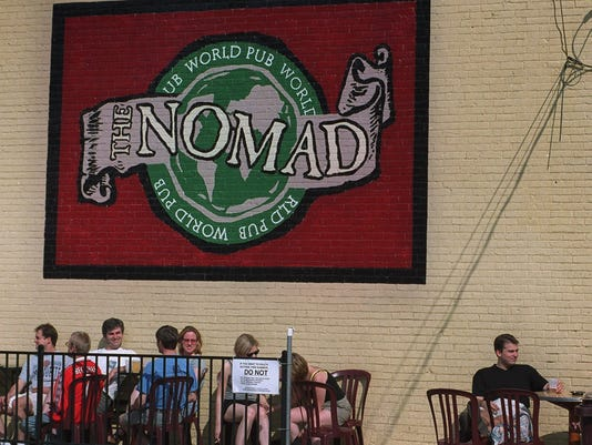 Nomad World Pub - outdoor seating