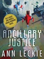 """""""Ancillary Justice"""" by Ann Leckie. Book 1 in the Imperial"""