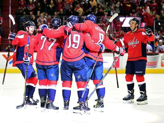 USP NHL: NEW YORK ISLANDERS AT WASHINGTON CAPITALS S HKN WSH NYI USA DC