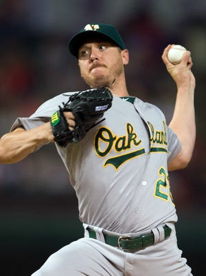 Scott Kazmir and the A's are one win from their third straight playoff appearance.
