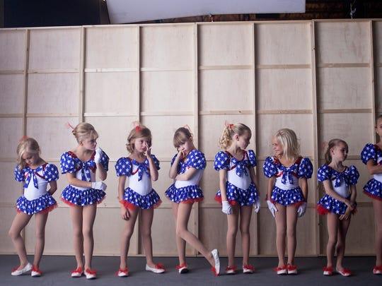 Danika Toolson (from left), Emma Winslow, Elle Walker,