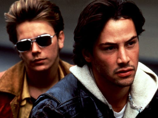 """Keanu Reeves costarred with River Phoenix in the indie drama """"My Own Private Idaho."""""""