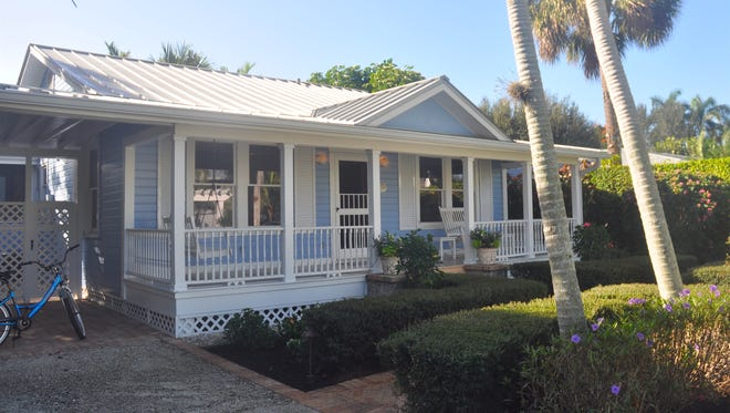 This small cottage on 7th Avenue South is what a Naples home used to look like 80 years ago. A return to small, or downright tiny, homes is one of many solutions people are reaching for to solve the region's affordability crisis today.