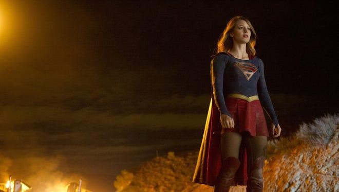 Melissa Benoist as Kara Zor-El in 'Supergirl'