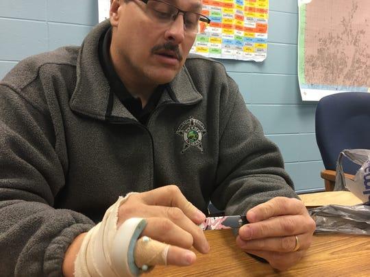 Hamilton County Sheriff's Department Deputy Brad Osswald