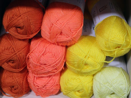 In addition to specialty yarns, The Lost Sheep Yarn Shop offers more pedestrian yarn in a wide range of colors as seen Friday January 13, 2017 in Sheboygan.