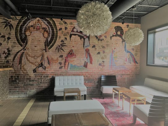 The new Heavenly Asian Cuisine and Lounge in Valley
