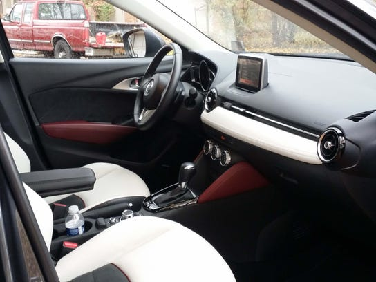 Mazda's interior decor is a match for its ZOOM ZOOM