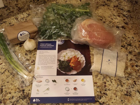 West African Peanut Chicken ingredients and recipe
