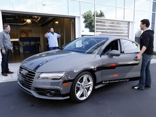 Automakers rev up innovation in the Bay Area