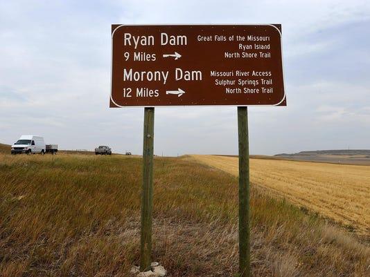 Sign to Ryan Dam