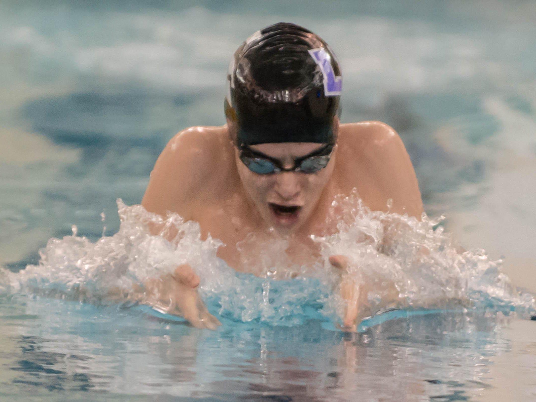 Lakeview's Braden Shanks is set for his senior season in the pool.