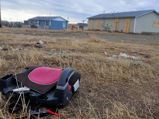 The town of Browning on the Blackfeet Reservation faces a shortage of tribal-owned housing for tribal members mainly due to the lack of funding.