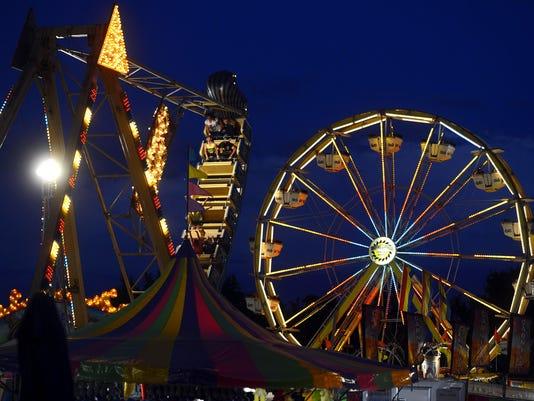 Carnival night lights