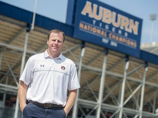 Gabe Gross at Auburn University on Wednesday, July 29, 2015.
