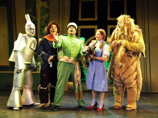 """""""The Wizard of Oz"""" will be at the Fox Theatre on Nov. 25-26."""