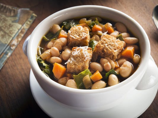 One-pot dish of beans and greens a quick and healthy dish
