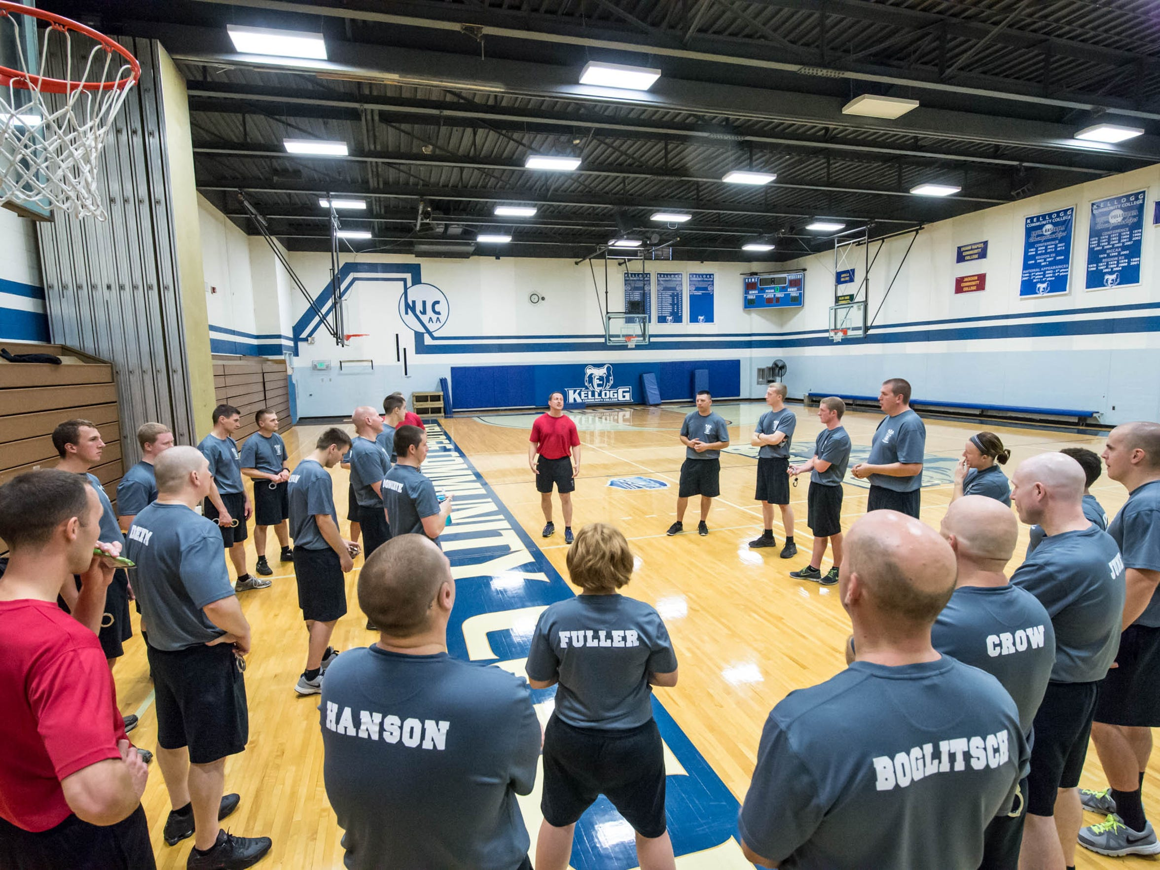 Kellogg Community College Police Academy Instructor