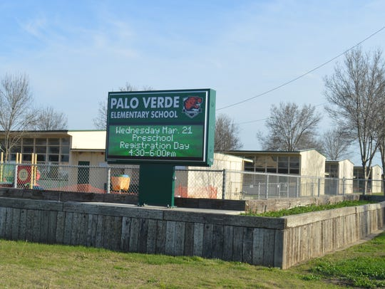 Palo Verde School is located just south of Tulare.