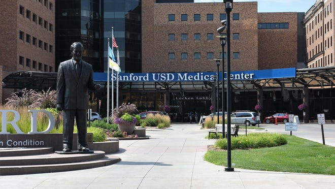Sanford USD Medical Center and Hospital in Sioux Falls.