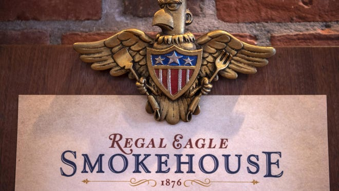 Regal Eagle Smokehouse: Craft Drafts & Barbecue is a fast-casual restaurant located at EPCOT at Walt Disney World Resort in Lake Buena Vista, Fla. Here, guests will enjoy classic American backyard barbecue and home-style craft brews.