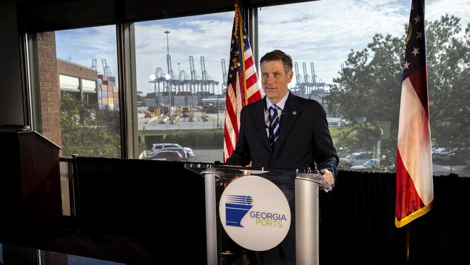 Georgia Ports Authority Executive Director Griff Lynch delivers live comments leading into the Authority's first virtual State of the Port event on Thursday.