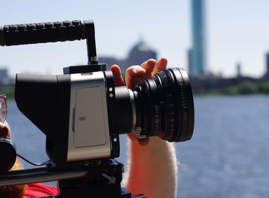 The Blackmagic camera