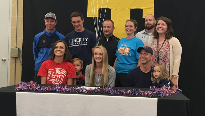 Tuscola senior Brooke Turner has signed to run college cross country and track for Liberty.