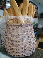 TDS NBR EV Food Chateau Gourmet - basket of French baguettes from L'Artisan .jpg