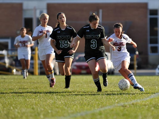 Millville girls' soccer loses to Mainland