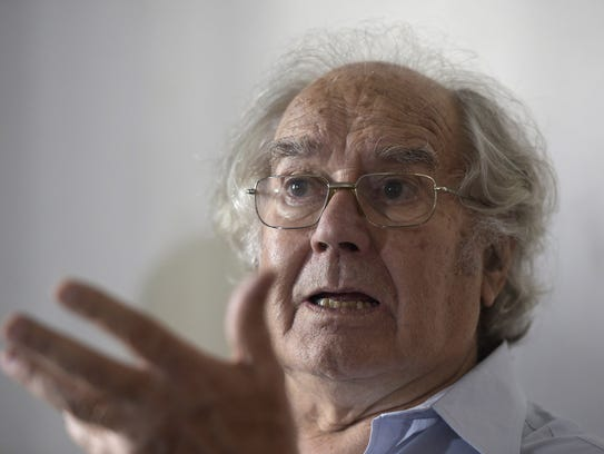 Nobel Peace Prize winner Adolfo Perez Esquivel talks