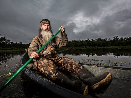 The adventures of Phil Robertson and his 'Duck Dynasty' clan can be seen for free on the Tubi programming service.