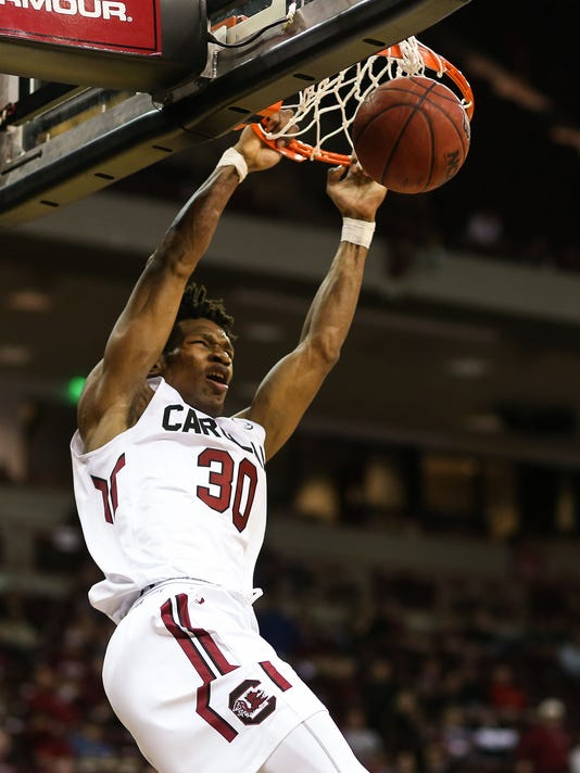 NCAA Basketball: Norfolk State at South Carolina