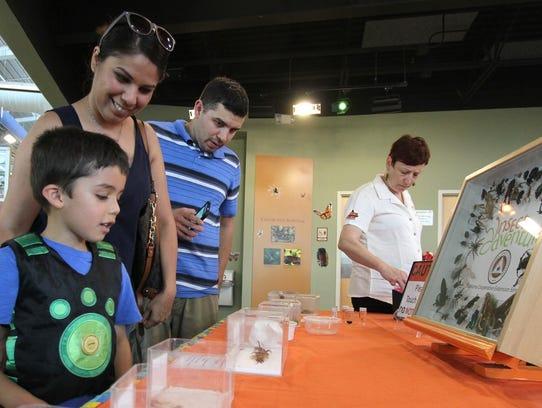 Christian Hayden, Monica Perez and Jay Hayden explore
