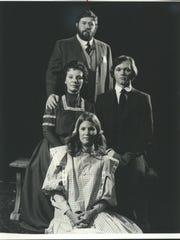 The Gibbs family in the Milwaukee Repertory Theater's
