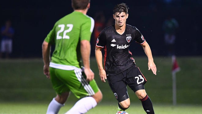 Ian Harkes started 22 of 25 games played during his rookie MLS season with D.C. United.