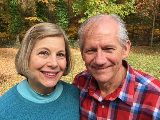 Kathy and Thad Livingston.