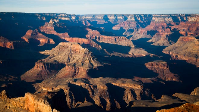 The awe-inspiring South Rim of the Grand Canyon.