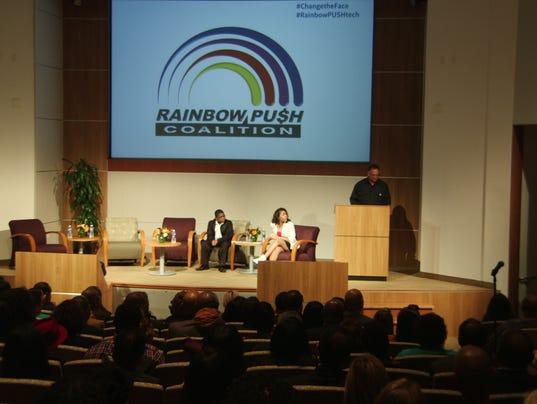 Jesse Jackson gets Silicon Valley to talk diversity