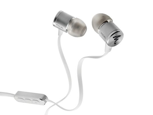 Focal Spark wired in-ear headphones Silver.