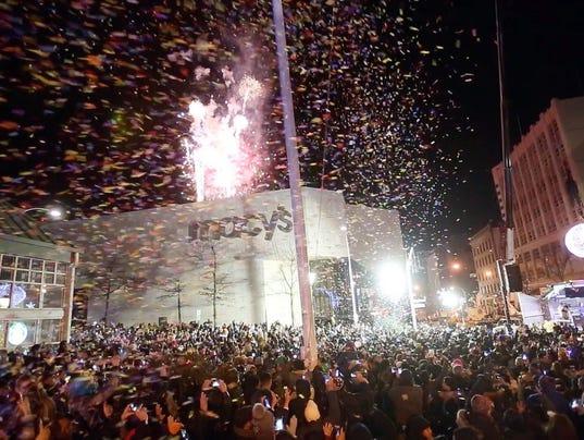 WHITE PLAINS NEW YEAR'S CELEBRATION