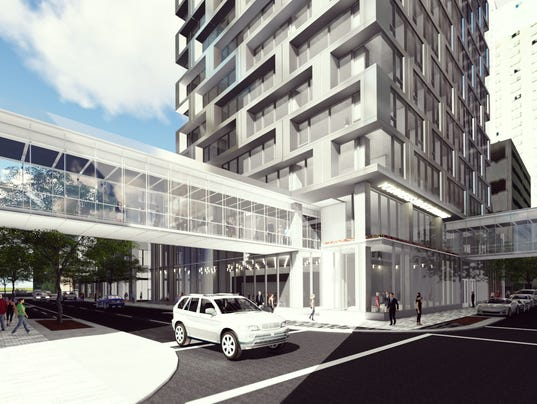 The Proposed 29 Story Tower Will Look Like This
