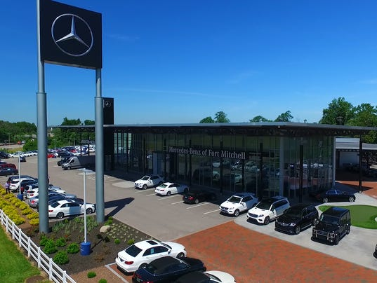 The general manager of the mercedes benz dealership as for Mercedes benz of fort mitchell